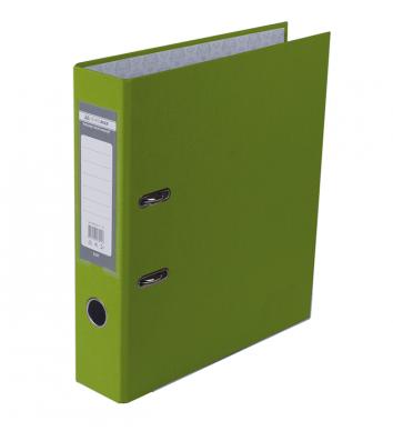 Папка-реєстратор А4 70мм одностороння світло-зелена Lux, Buromax