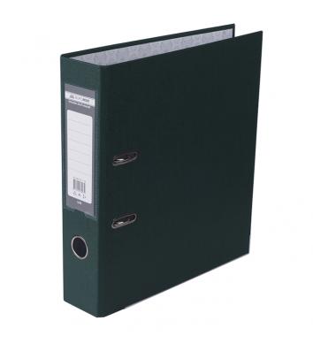 Папка-реєстратор А4 70мм одностороння темно-зелена Lux, Buromax
