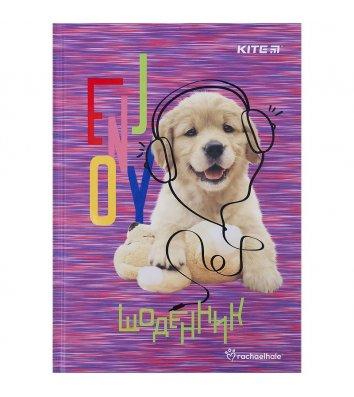 """Щоденник шкільний А5 48арк тверда обкладинка """"Rachael Hale"""", Kite"""