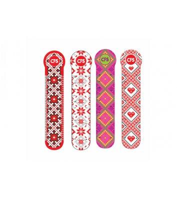 """Закладки пластиковые для книг 4шт """"Vyshyvanka"""", Cool for School"""