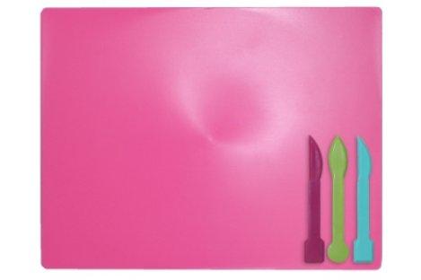 Набор для лепки: доска, 3 стека розовый, Zibi