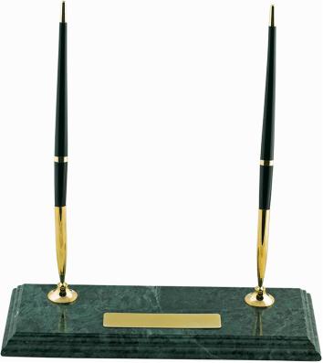 Підставка настільна мармурова з двома ручками, Buromax