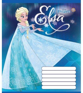 Тетрадь 12 листов линия Frozen, Зошити України