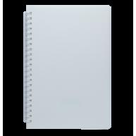 Блокнот A5 60арк нелінований Fresh, бічна спіраль білий, Buromax