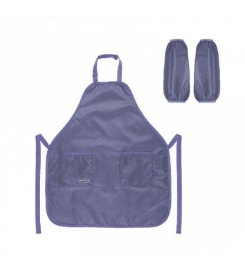 Папка-конверт А4 на молнии zip-lock пластиковая светло-коричневая Fleur, Axent