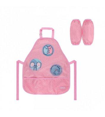 Папка-конверт А4 на молнии zip-lock пластиковая светло-сиреневая Fleur, Axent