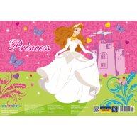 """Коврик для детского творчества А3 пластиковый """"Princess"""", Cool for School"""