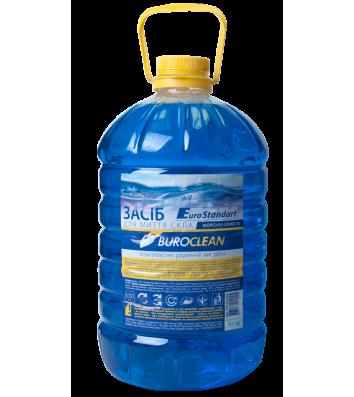 Засіб для миття скла Buroclean 5л морська свіжість