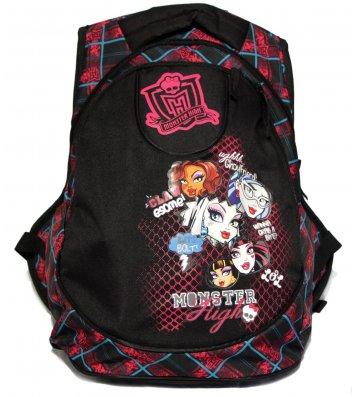 "Рюкзак шкільний ""Графіті"" Monster High, Росмен"