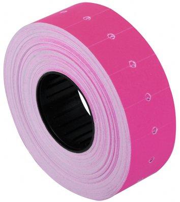 Етикетки-цінники 12*21мм 1000шт рожеві, Economix