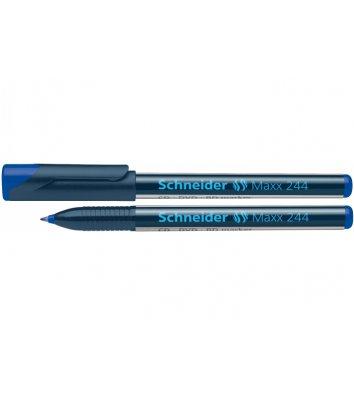 Маркер для CD/DVD Maxx 244, колір чорнил синій 0,7 мм, Schneider