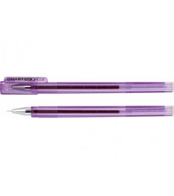 Ручка гелева Piramid, колір чорнил фіолетовий 0,5мм, Economix