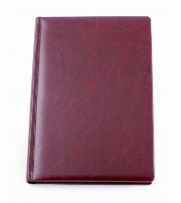 Щоденник напівдатований А5 Nebraska темно-коричневий, Optima