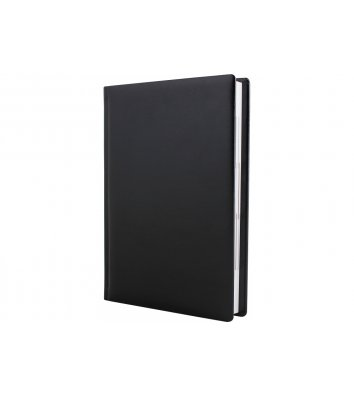 Щоденник напівдатований А5 Nebraska чорний, Optima