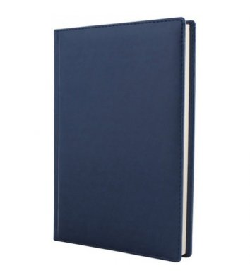 Ежедневник полудатированный A5 Caprice синий, Optima