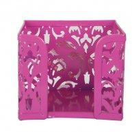 Підставка для паперу Barocco металева рожева, Buromax