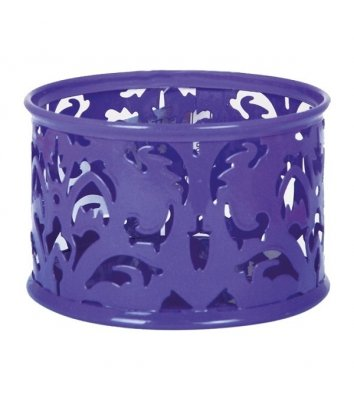Підставка для скріпок Barocco металева фіолетова, Buromax
