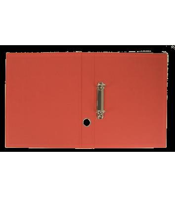 Папка-реєстратор А4 40мм 2D-кільця одностороння червона, Buromax