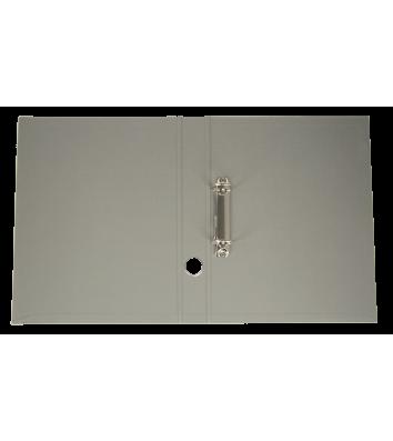 Папка-реєстратор А4 40мм 2D-кільця двостороння сіра, Buromax