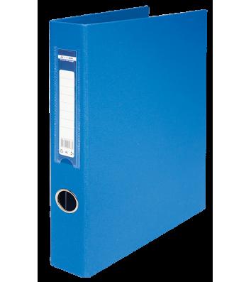 Папка-реєстратор А4 40мм 4D-кільця двостороння синя, Buromax