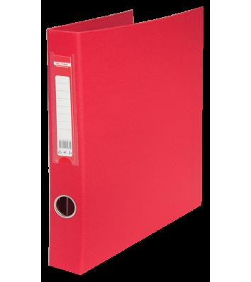 Папка-регистратор А4 40мм 4D-кольца односторонняя красная, Buromax