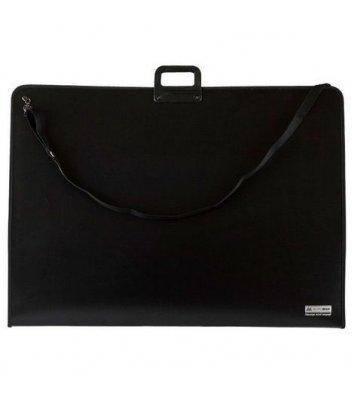Портфель А2 пластиковый 1 отделение Professional черный, Buromax