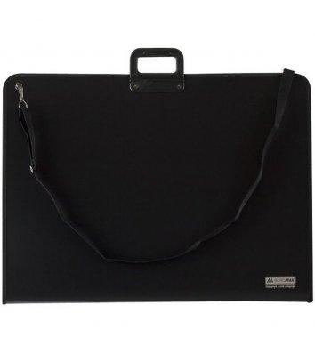 Портфель А1 пластиковый 1 отделение Professional черный, Buromax