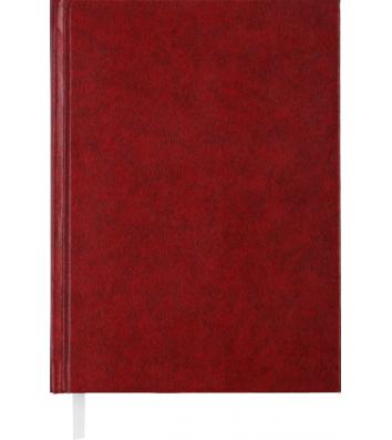 Ежедневник недатированный A5 Expert бордовый, Buromax