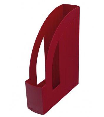 Лоток вертикальный пластиковый красный непрозрачный, Arnika