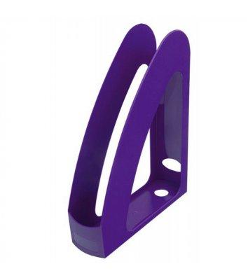 Лоток вертикальний пластиковий фіолетовий непрозорий, Arnika