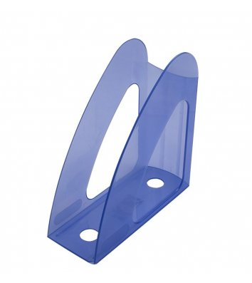 Лоток вертикальний пластиковий фіолетовий прозорий, Arnika