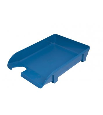 Лоток горизонтальний пластиковий синій непрозорий, Arnika