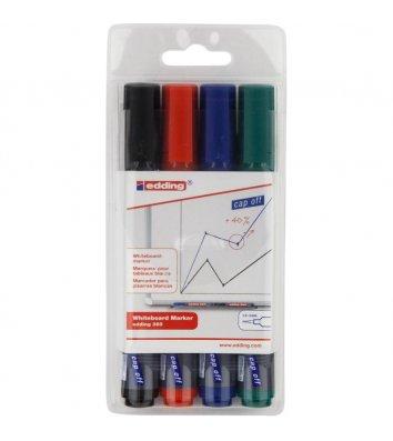 Набір 4 маркерів для дошок, Edding