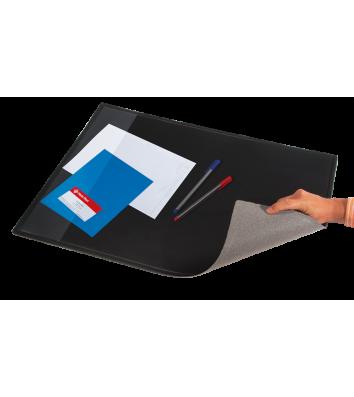 Настільне покриття прозоре з чорною підкладкою 625*512мм, Panta Plast