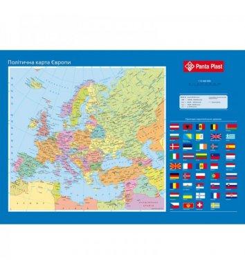 Настольное покрытие 590*415мм карта Европы, Panta Plast