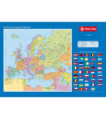 Настільне покриття  590*415мм карта Європи, Panta Plast