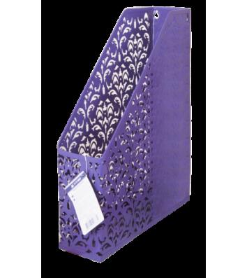 Лоток вертикальний металевий фіолетовий, Buromax