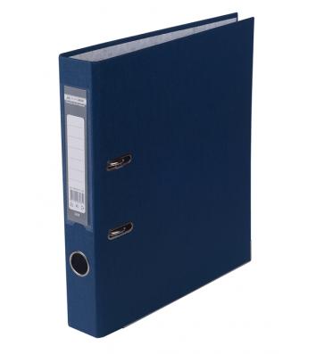 Папка-реєстратор А4 50мм одностороння темно-синя Lux, Buromax
