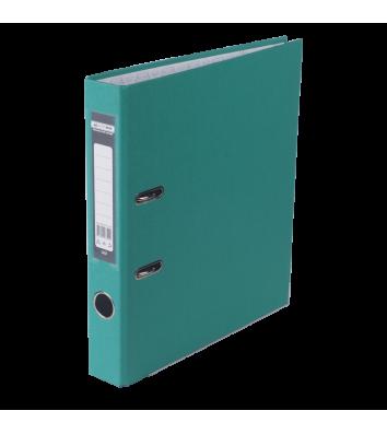 Папка-реєстратор А4 50мм одностороння бірюзова Lux, Buromax
