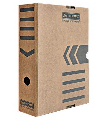 Бокс архивный 80мм коричневый, Buromax