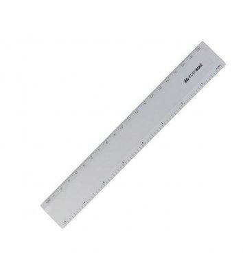 Лінійка 20см алюмінієва, Buromax