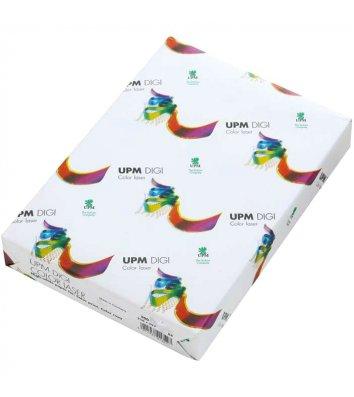 Папір щільний А4 250г/м2 125арк Upm Digi Color Lazer, білий