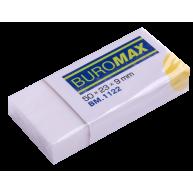 Гумка для олівця біла, Buromax