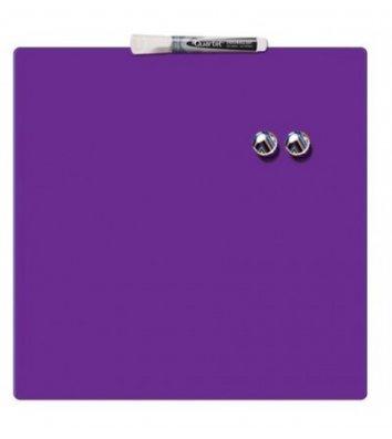 Доска магнитно-маркерная 36*36см, фиолетовая Quartet, Nobo