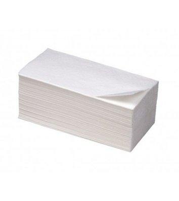 Полотенца бумажные двухслойные 160шт Z-сложения белые, Buroclean