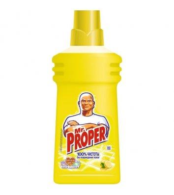 Средство для мытья пола лимон Mr.Proper 500мл