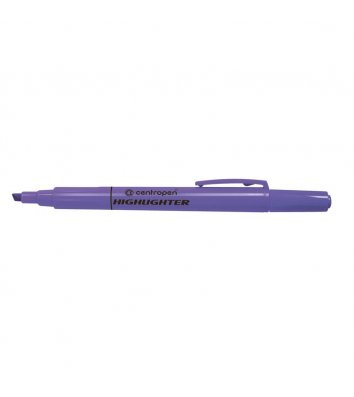 Маркер текстовый Fax, цвет чернил фиолетовый 1-4, Centropen
