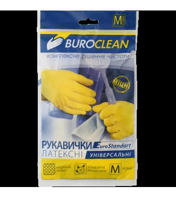 Рукавички гумові універсальні M, Buroclean