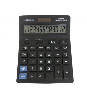 Калькулятор 12 розрядів 140*176*45мм, Brilliant