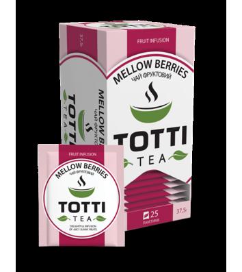 Чай фруктовий Totti «Соковиті ягоди» в пакетиках 25шт